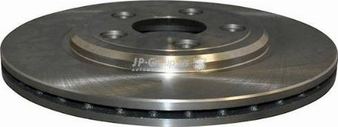 JP Group 5463200200 - Bremžu diski interparts.lv