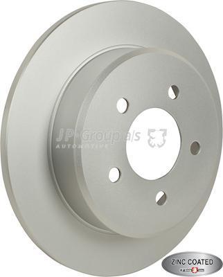 JP Group 5063200100 - Bremžu diski interparts.lv