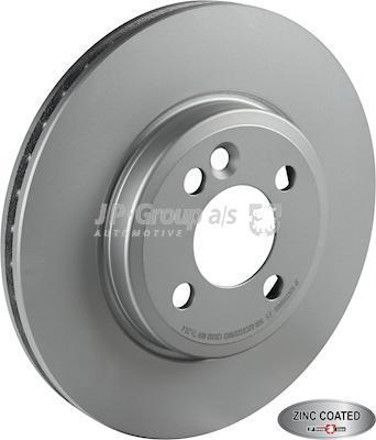 JP Group 6063100400 - Bremžu diski interparts.lv
