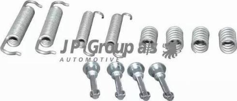 JP Group 1463950110 - Piederumu komplekts, Stāvbremzes mehānisma bremžu loks interparts.lv