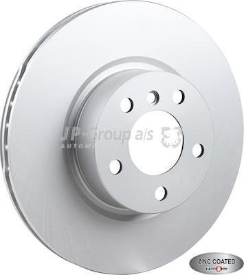 JP Group 1463107200 - Bremžu diski interparts.lv