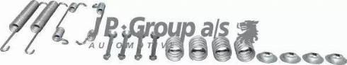 JP Group 1563950510 - Piederumu komplekts, Bremžu loki interparts.lv