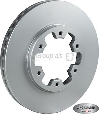 JP Group 1563105100 - Bremžu diski interparts.lv