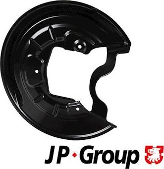 JP Group 1164305170 - Dubļu sargs, Bremžu disks interparts.lv