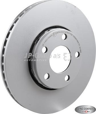 JP Group 1163110400 - Bremžu diski interparts.lv