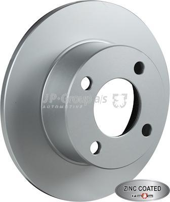 JP Group 1163205400 - Bremžu diski interparts.lv