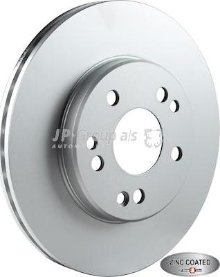 JP Group 1363105900 - Bremžu diski interparts.lv