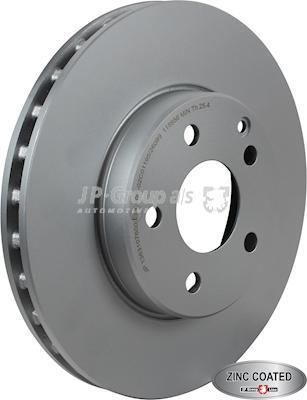 JP Group 1363107600 - Bremžu diski interparts.lv