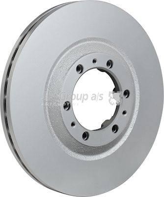 JP Group 1263103100 - Bremžu diski interparts.lv