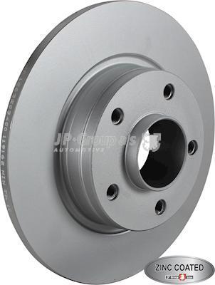 JP Group 1263203400 - Bremžu diski interparts.lv