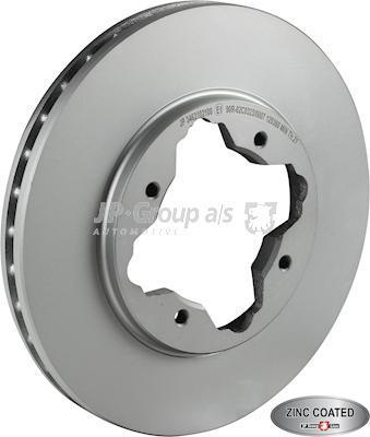 JP Group 3463102100 - Bremžu diski interparts.lv