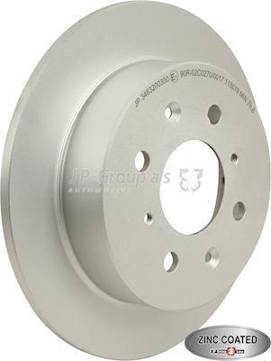 JP Group 3463200300 - Bremžu diski interparts.lv