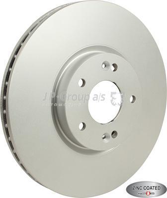 JP Group 3563101500 - Bremžu diski interparts.lv
