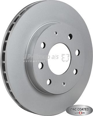 JP Group 3563101600 - Bremžu diski interparts.lv