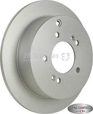 JP Group 3563200100 - Bremžu diski interparts.lv