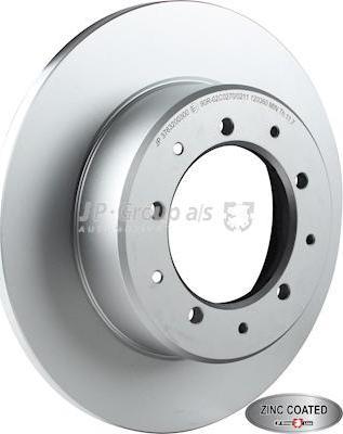 JP Group 3763200300 - Bremžu diski interparts.lv
