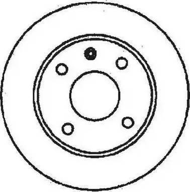 A.B.S. 15810 - Bremžu diski interparts.lv