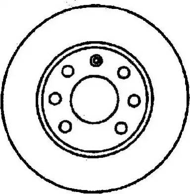 Jurid 561404J - Bremžu diski interparts.lv
