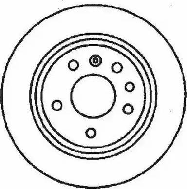 Jurid 561408J - Bremžu diski interparts.lv