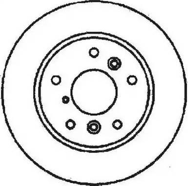 Jurid 561483J - Bremžu diski interparts.lv