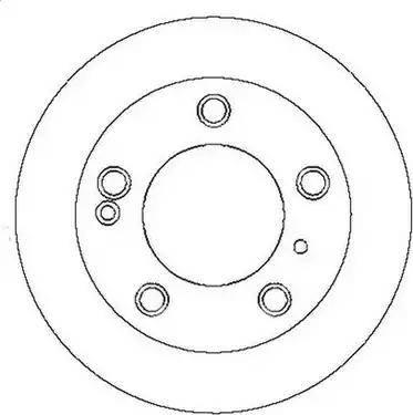 Jurid 561556J - Bremžu diski interparts.lv