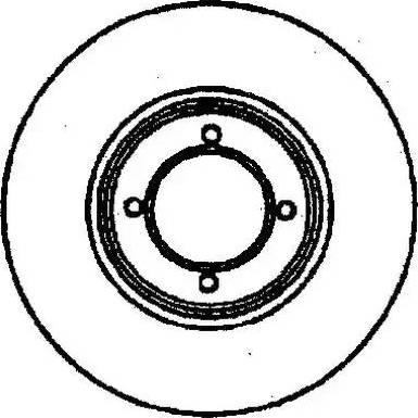 Jurid 561557J - Bremžu diski interparts.lv