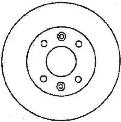 Jurid 561510J - Bremžu diski interparts.lv