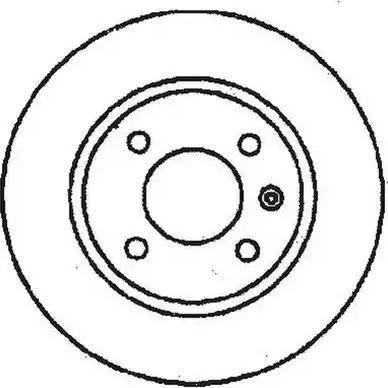 Jurid 561518J - Bremžu diski interparts.lv