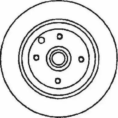 Jurid 561530JC - Bremžu diski interparts.lv