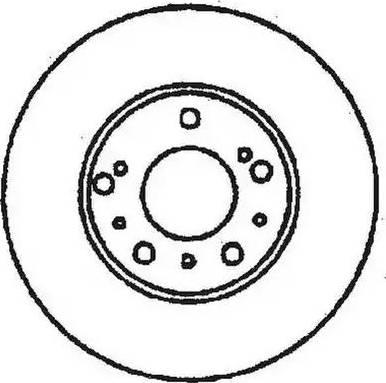 Jurid 561532JC - Bremžu diski interparts.lv