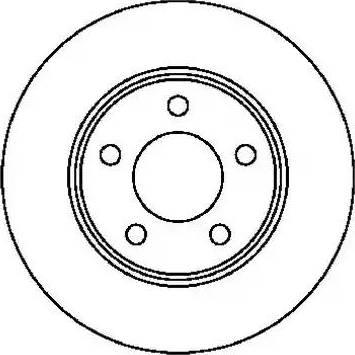 Jurid 561537J - Bremžu diski interparts.lv