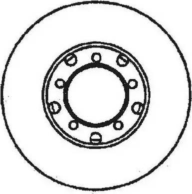 Jurid 561574J - Bremžu diski interparts.lv