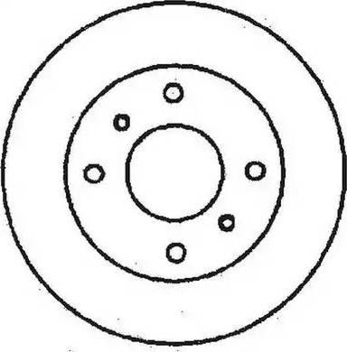 Jurid 561614J - Bremžu diski interparts.lv