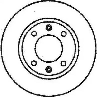 Jurid 561684J - Bremžu diski interparts.lv