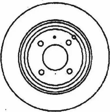 Jurid 561681J - Bremžu diski interparts.lv