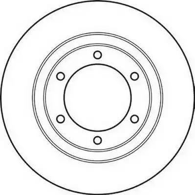 Jurid 561032JC - Bremžu diski interparts.lv