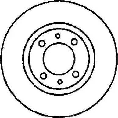 Jurid 561074J - Bremžu diski interparts.lv
