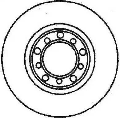 Jurid 561167J - Bremžu diski interparts.lv