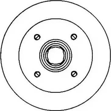 Jurid 561138J - Bremžu diski interparts.lv