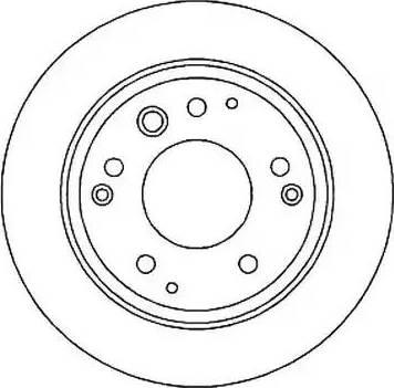 Jurid 561813J - Bremžu diski interparts.lv