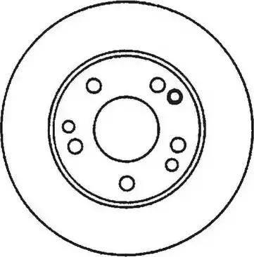 Jurid 561875J - Bremžu diski interparts.lv