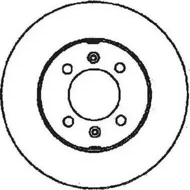 Jurid 561349J - Bremžu diski interparts.lv