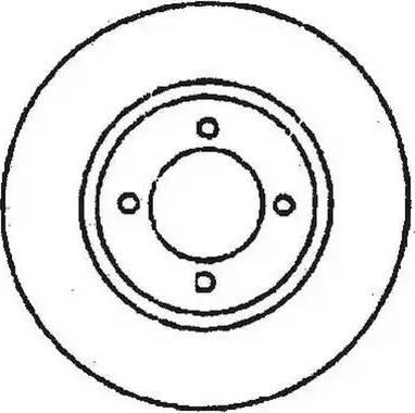Jurid 561368J - Bremžu diski interparts.lv