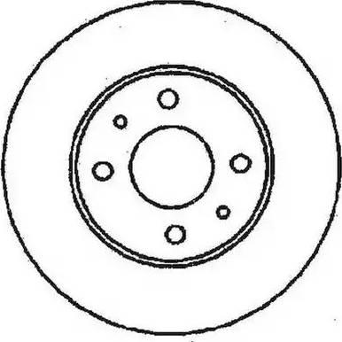 Jurid 561388J - Bremžu diski interparts.lv