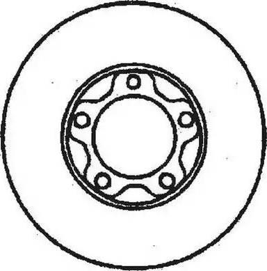 Jurid 561296J - Bremžu diski interparts.lv