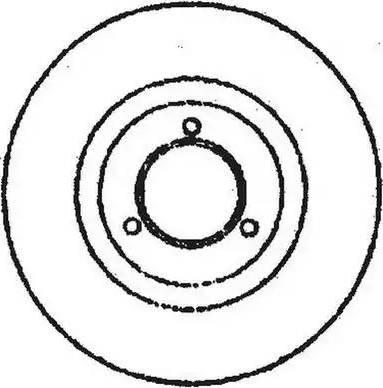 Jurid 561297JC - Bremžu diski interparts.lv