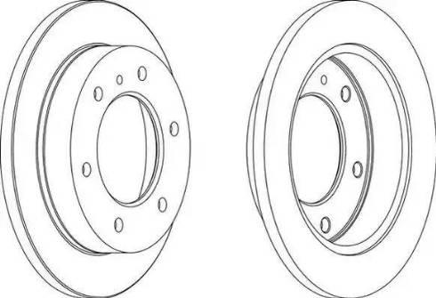 Jurid 561748J - Bremžu diski interparts.lv