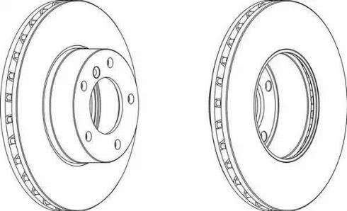 Jurid 563094JC-1 - Bremžu diski interparts.lv