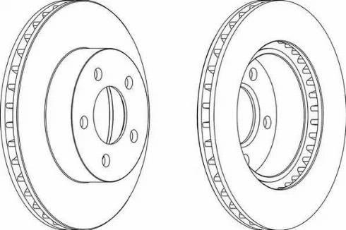 Jurid 563058JC - Bremžu diski interparts.lv
