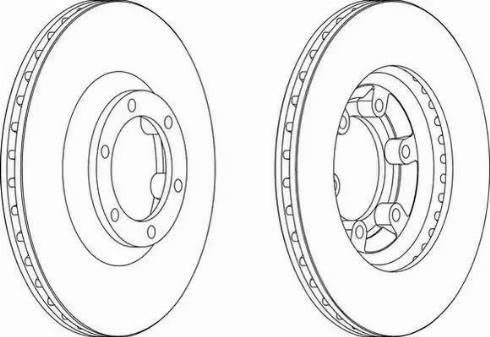 A.B.S. 16074 - Bremžu diski interparts.lv